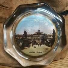 Antique Rare Paperweight Rastatt Schloss 3""