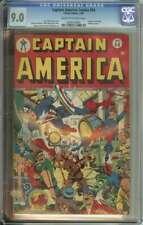 CAPTAIN AMERICA COMICS #54 CGC 9.0 CR/OW PAGES // BONDAGE COVER