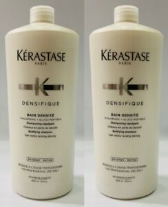 Densifique : 2 X Bain Densite 1000ML Kerastase + Free Pump