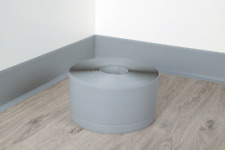 "📏100x25mm / 3,93""x0,95"" PVC FLEXIBLE SKIRTING BOARD -10M ROLL - VARIOUS COLORS"