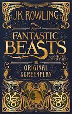 FANTASTIC BEASTS & WHERE TO FIND THEM :Original Screenplay '16 J.K. Rowling 1/1s