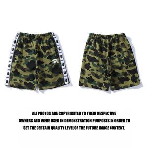 BAPE Men's Shorts Shark Breechcloth Short Pants Camo A Bathing Ape Bottoms