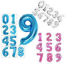40 Inch Giant Helium Foil Number 0-9 Balloon Birthday Wedding Party - 3 Colour