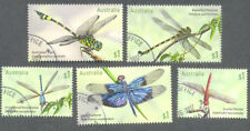 Australia-Dragonflies-Insects- fine used - cto set 2017