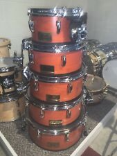 Pearl Session Custom All Maple Shell 5 Piece Drum Set Prototype Must See!