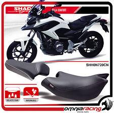 Shad Sella Confort Nera con Cuciture Grigie per Honda NC700X 12 > - NC750X 14>