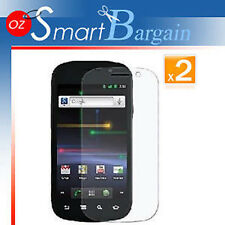 2 x ANTI GLARE MATTE SCREEN PROTECTOR FOR Nexus S i9020