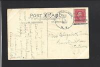 WYANDANCH, NEW YORK 1917 POSTCARD TO HUNTINGTON,N.Y. SUFFOLK CO 1903/OP.