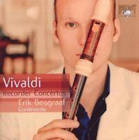 ERIK/ELIAS,IZHAR BOSGRAAF - VIVALDI: RECORDER CONCERTOS  CD NEW! VIVALDI,ANTONIO