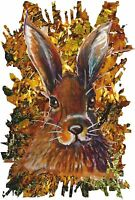 WILD HARE T SHIRT WOODLAND RUSTIC COUNTRY NATURE WILDLIFE ANIMAL COUNTRY FASHION