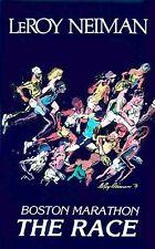 LEROY NEIMAN  - The Race Boston Marathon - ORIGINAL 1979 SIGNED ART PRINT POSTER