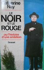 LE NOIR ET LE ROUGE CATHERINE NAY