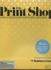 Printshop Disk w/Man New Atari 800/XL/XE Mint!