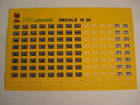DECALS KIT 1/43 PROVA MO TARGHE FERRARI TURISMO CORSA DECAL