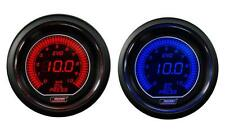 Digital Oil Pressure Gauge Prosport EVO Series Blue/RED 0-10 BAR Metric scale