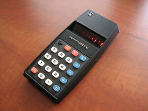 Very nice MINT condition Vintage 1976 Commodore 796M RED-LED Basic Calculator