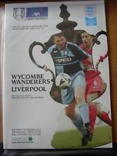 08/04/2001 FA Cup Semi-Final: Wycombe Wanderers v Liverpool [At Aston Villa] (No