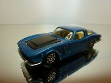 CORGI TOYS 301 ISO GRIFO 7 LITRE - BLUE METALLIC 1:43 - VERY GOOD CONDITION