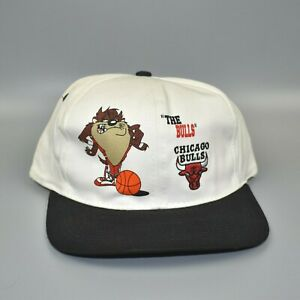 Chicago Bulls Taz Looney Tunes Vintage 90's YOUTH Snapback Cap Hat - NWT