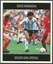 Orbis 1990 Copa Del Mundo Colection # O-Argentina-Diego Maradona en Acción