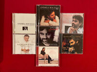 ANDREA BOCELLI Lot of 7 CDs - Sentimento, Songo, My Xmas, Viaggio, Aria, Toscana