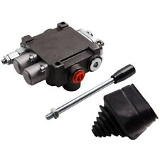 Hydraulic Directional Control Valve Tractor Loader With Joystick 11gpm Adjustable