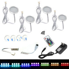 Aiboo LED Multi Color Upper Cabinet Light 12V LED Under Cabinet Lighting 4X2W