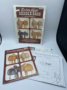Making Custom-Made Saddle Bags Stohlman Tandy Techniques Booklet Pattern