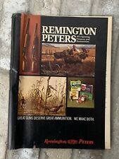 Remington Peters Magazine, 1971 Sporting Firearms, DuPont, old, guns, hunting