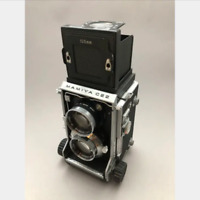 MAMIYA C22 with 105mm F3.5 Lens Good Working Condition from JAPAN