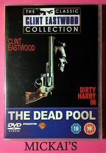 THE DEAD POOL - CLASSIC CLINT EASTWOOD COLLECTION DVD PAL REGION 2 OOP DELETED