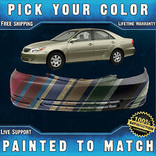 NEW Painted To Match - Front Bumper Cover For 2002 2003 2004 Toyota Camry Sedan