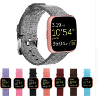 Nylon Fabric Replacement Wristband Wrist Bands Watch Band Strap For Fitbit Versa