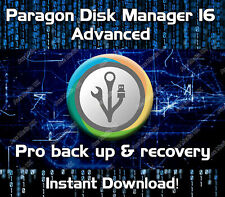 PARAGON HARD DISK MANAGER 16 ADVANCED - WINDOWS 7, 8, 8.1, 10 - DOWNLOAD