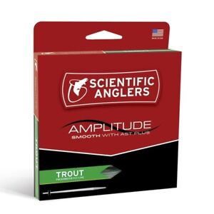 S/A Amplitude Smooth Trout Fly Line - WF4F - New