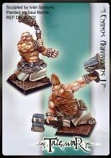 Tale of War Miniatures Angry enanos I
