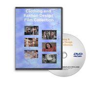 Vintage Clothing Fashion Design Rayon Nylon Shoes Hair Style Films DVD A335
