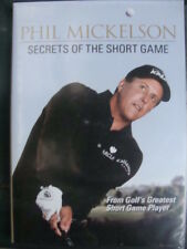 Phil Mickelson: Secrets Of the Short Game (DVD, 2009, 2-Disc Set) - Good