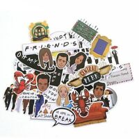 33pcs Friends TV Show Sticker for DIY Phone Luggage Laptop Waterproof Stickers