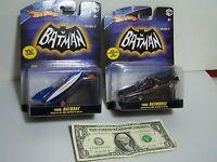Hot Wheels Batman 1:50 - Batman 1966 Batmobile With Batboat 1/50 Series 2 - 2008