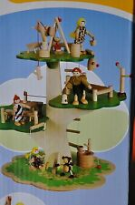 *NEW!* WANJU TREE-TOP HIDEAWAY WOODEN TOY COLLECTIBLE KIDS EDUCATION BUILDING