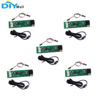 5Pcs 4 Wire Resistive USB Touch Panel Screen Controller Driver Board USB Cable
