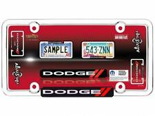 Dodge Logo Chrome License Plate Tag Frame for Auto Car Truck Brand New