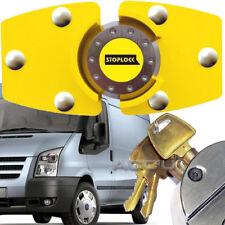 Stoplock High Security Anti Theft Yellow Van Door Lock For Ford Transit Van
