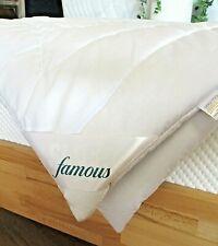 Famous Sleep Kamelhaardecke Sommer leicht Bettdecke Bezug Baumwolle Natur pur