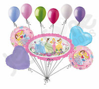 11 pc Disney Princess Marquee Happy Birthday Balloon Bouquet Decoration Belle