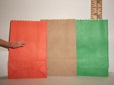 FASHION DOLL MINIATURE GROCERY SACK ACCESSORY LOT OF THREE 1//6 SCALE #3