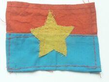 Viet Cong Vietnam War Era Cloth Flag Id Badge