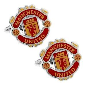 MANCHESTER UNITED CUFFLINKS Soccer Football Club FC Sports Fan Wedding Gift Bag