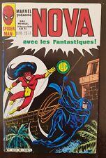 NOVA N°46 editions LUG, 10/11/1981: NOVA, SPIDER WOMAN & LES FANTASTIQUES [BE]